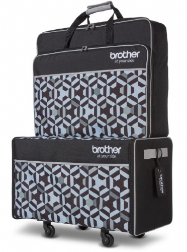 Brother Machine Trolley Bag Set  Fits  XE1  XJ1
